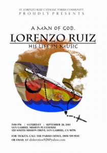 St. Lorenzo Ruiz Church Musical at the San Gabriel Mission Playhouse