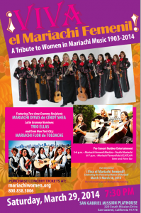 Viva el Mariachi Femenil at Mission Playhouse