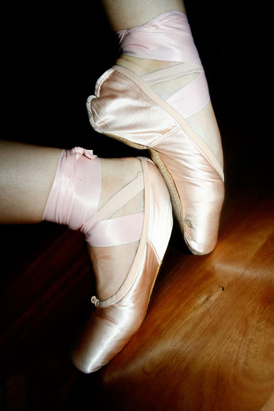 Ballet Pointe Shoes by melalouise from East St Kilda, Australia