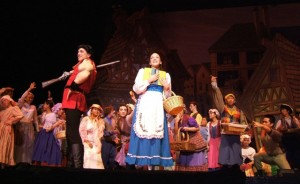 Beauty and the Beast at the San Gabriel Mission Playhouse