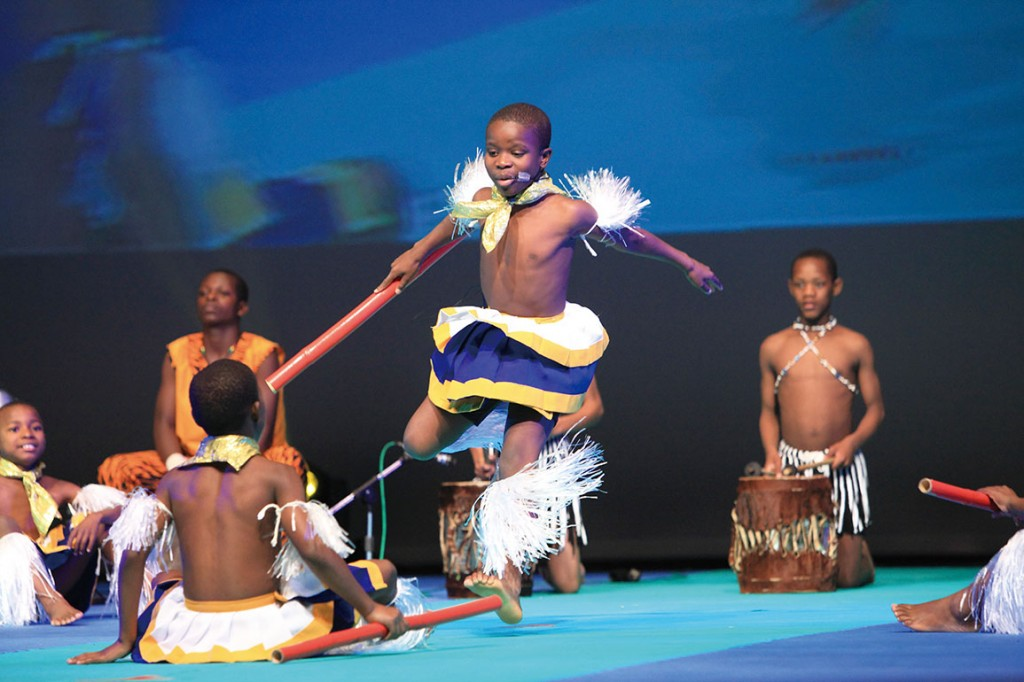 Chinese Africa Culture Charity Performance