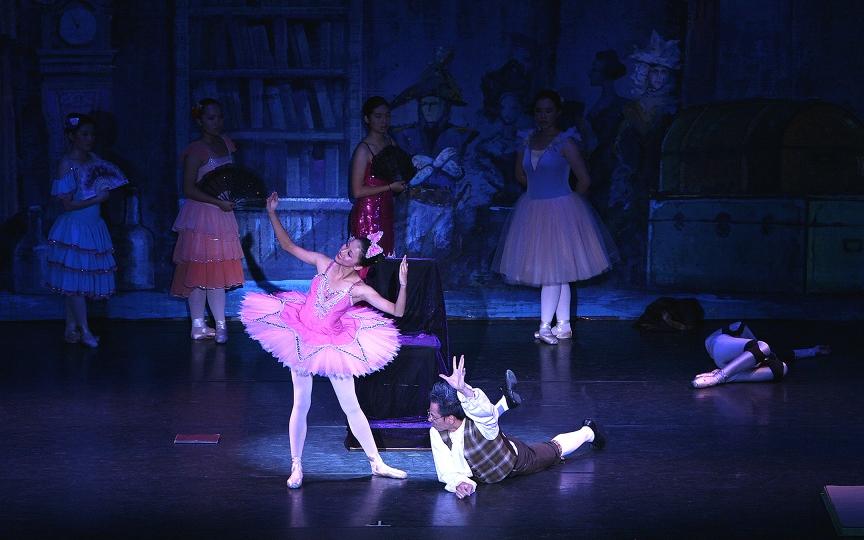 Li's Ballet Coppelia at the San Gabriel Mission Playhouse