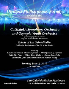 Olympia Youth Orchestra at Mission Playhouse