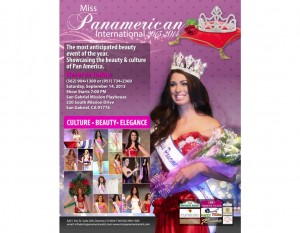 Panamerican Pageant 2013 at the San Gabriel Mission Playhouse