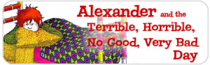 Theatre Works USA Alexander and the Terrible, Horrible, No Good, Very Bad Day